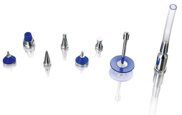 Nozzle kit for SICOLAB mini system for various drying, undusting and other applications